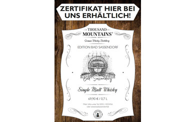 Single Malt Whisky aus Bad Sassendorf
